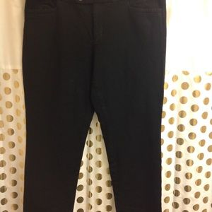 Banana Republic Sloan Fit Dress Pant 14 Ankle Crop